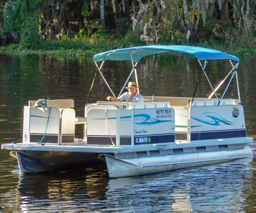 Pontoon Boat Rentals – Holly Bluff Marina